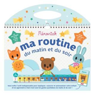 organisation-enfants-ma-routine-du-matin-et-du-soir-memoniak-2018-2019